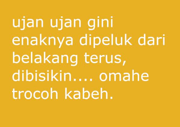 50 Contoh Status Facebook Bahasa Jawa Lucu Banget