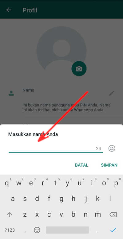 Cara Menghilangkan Nama Whatsapp Jadi Kosong Seperti Hantu
